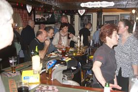 The Duke bar area
