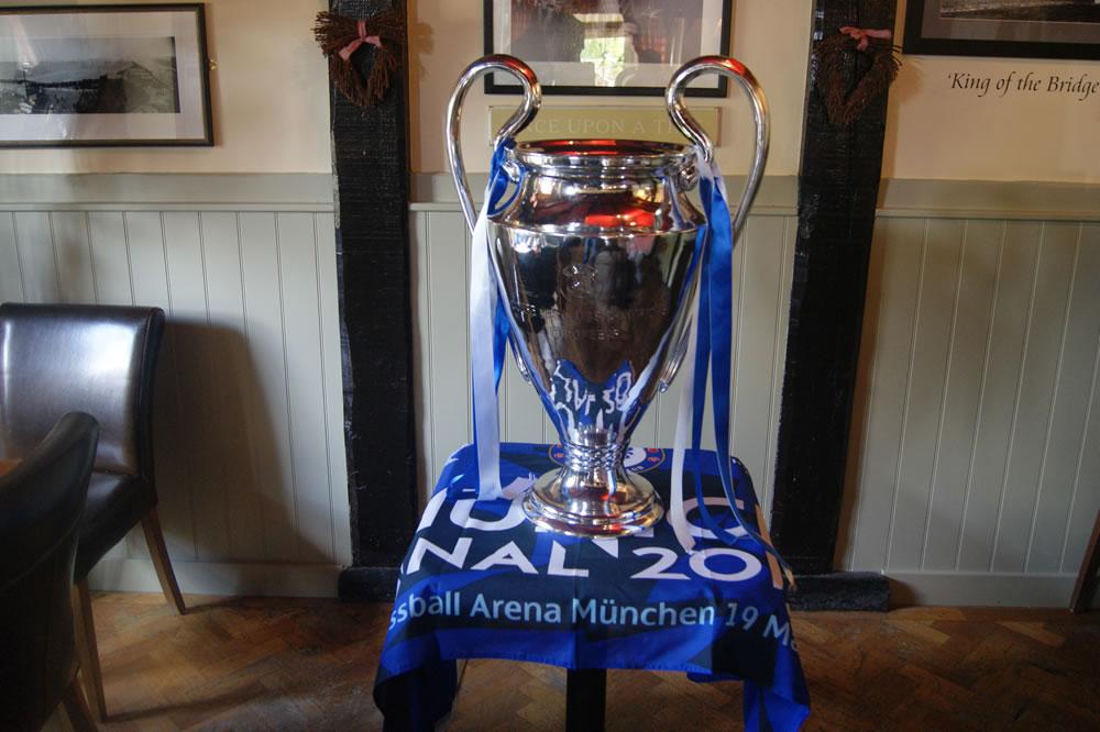 ECL Trophy At The Duke Of Edinburgh