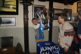 ECL trophy at The Duke of Edinburgh