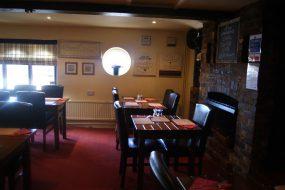 The Duke of Edinburgh restaurant area