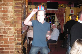Prince William dons a hat & joins in the fun!