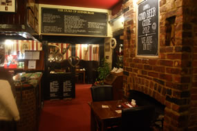 Inside The Duke pub
