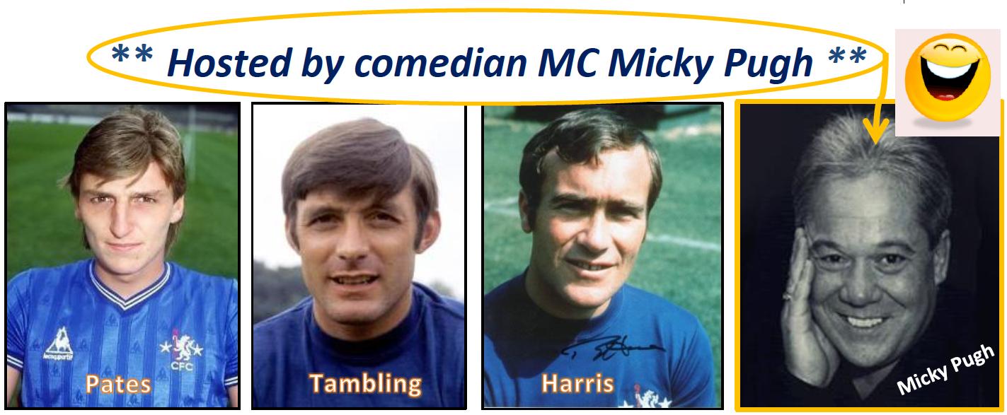 Colin Pates, Bobby Tambling, Ron 'Chopper' Harris