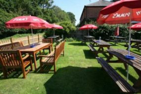 The Duke of Edinburgh beer garden