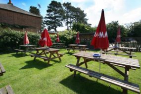 The Duke of Edinburgh beer garden