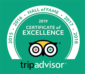 Trip Advisor - Hall of Fame