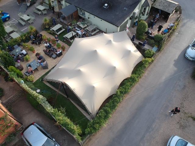 Super tent at The Duke of Edinburgh Ascot